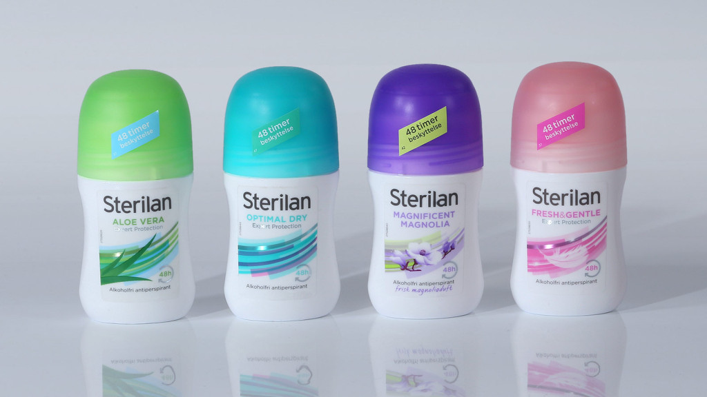 Sterilan Deoderant Packaging